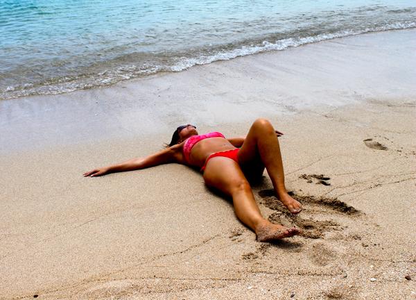 cristina lodi, caraibi, bikini