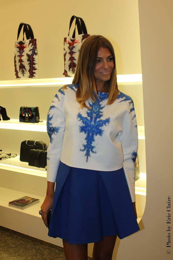 2 fashion sisters, Cristina Chiabotto, Byblos