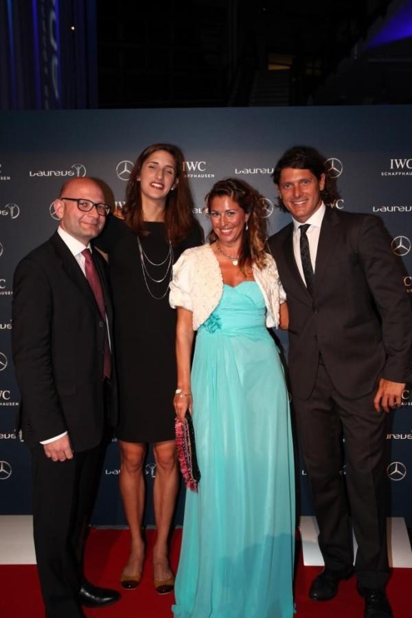 Paolo Lanzoni, Alessia Trost, Cristina Lodi, Aldo Montano, Fondazione laureus, mercedes benz
