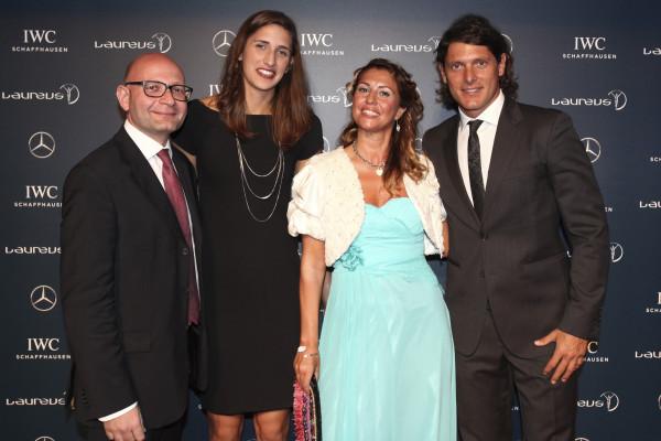 Paolo Lanzoni, Alessia Trost, Cristina Lodi, Aldo Montano
