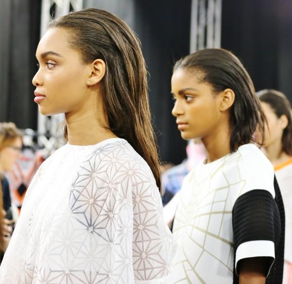 back stage byblos, 2 fashion sisters, fashion blogger italia
