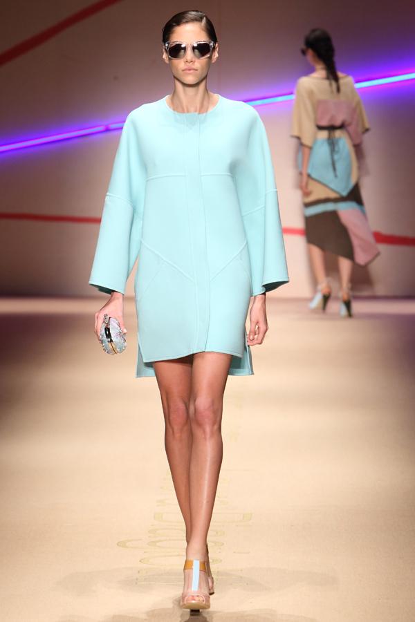 2 sfilata laura biagiotti, 2 fashion sisters, mfw