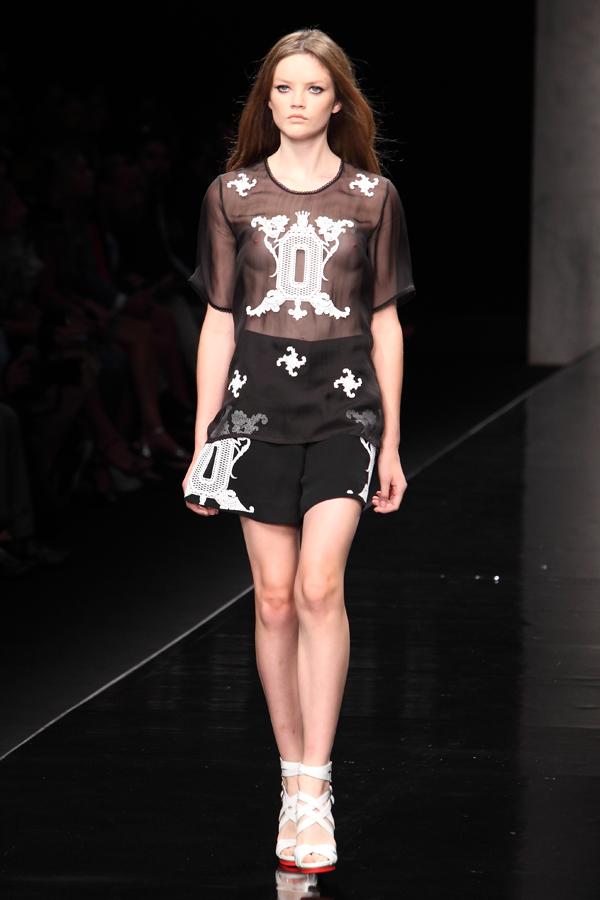 5 sfilata john richmond, 2 fashion sisters, ss2015