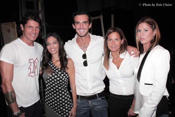 Aldo Montano, Alessandra Moschillo, Lucas Peracchi, Daniela Frignani, Cristina Lodi, 2 fashion sisters, john richmond