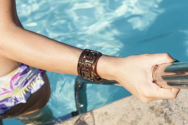 Cristina Lodi, 2 fashion sisters, fashion blogger, bracciale zoppini, bikini parah