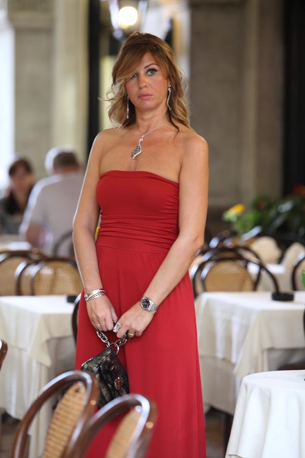Cristina Lodi, abito rosso, 2 fashion sisters, fashion blogger, Roberto Botticelli