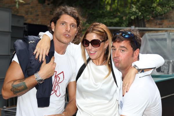 aldo montano, la fashion blogger cristina lodi, giulio cuccuini, 2 fashion sisters