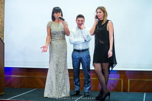 Ana Laura Ribas, Cristina Lodi, abito CristinaEffe, Hotel Principe di Savoia, Milano, 2 fashion sisters