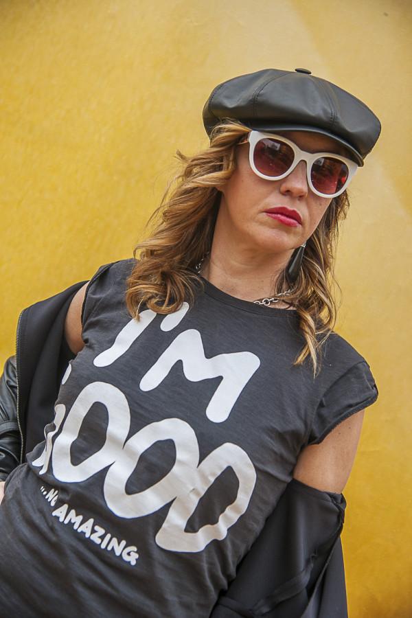 Cristina Lodi, cappello Doria 1905, 2 fashion sisters, Happiness Brand, Athina Lux, pitti uomo, fashion blogger italia