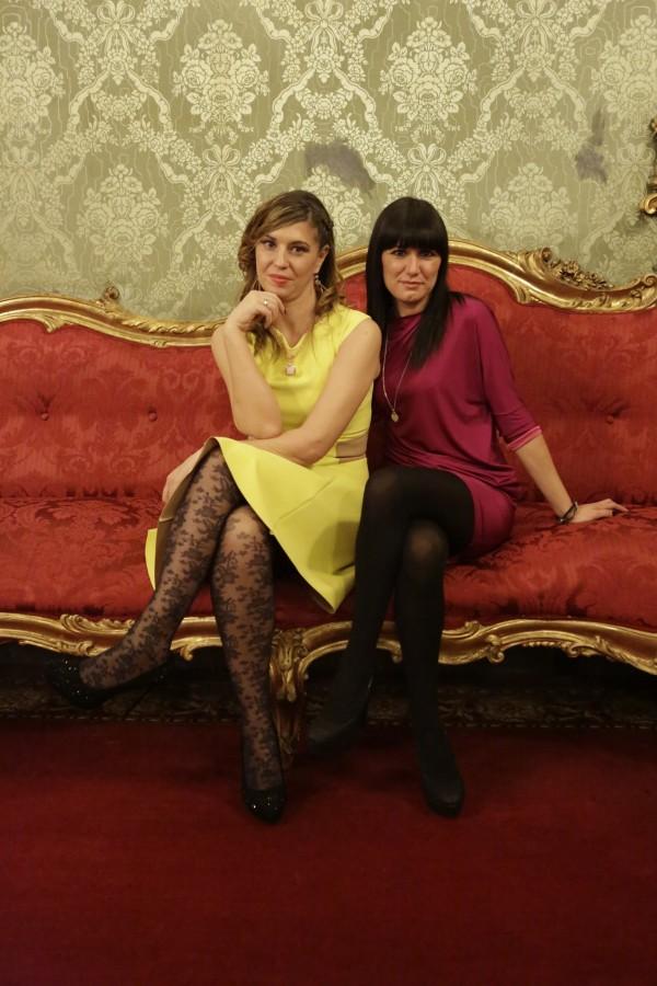 Cristina Lodi, 2 fashion sisters, Chantall Busiello