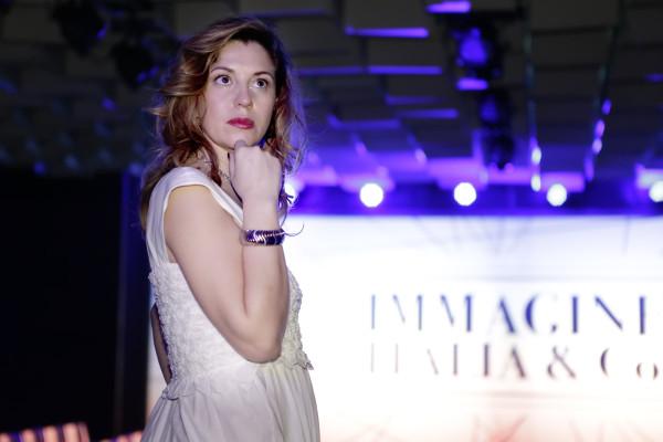 Cristina Lodi, bracciale breil, 2 fashion sistera,immagine italia