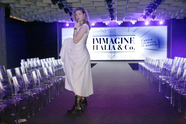 Cristina Lodi,boots luciano barachini, 2 fashion sisters, grazia 'lliani, immagine italia, lingerie