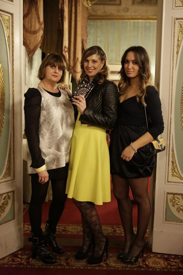 Patrizia Finucci Gallo, Cristina Lodi, Maia Giovanna Abagnale, 2 fashion sisters