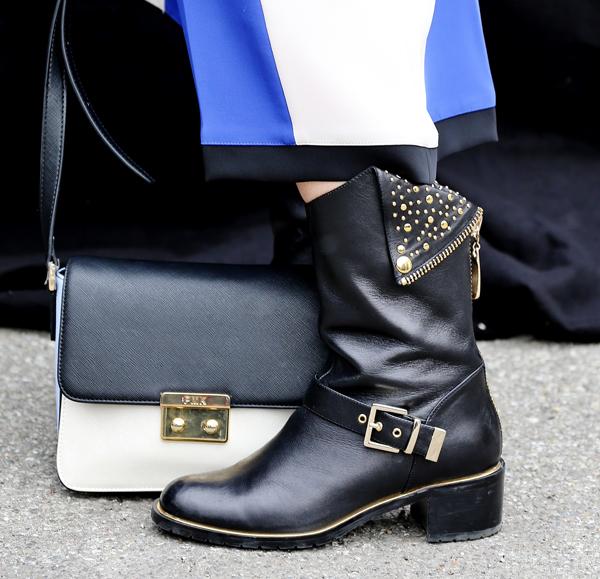 2 fashion sisters, borsa pomikaki, stivali luciano baracchini, CristinaEffe