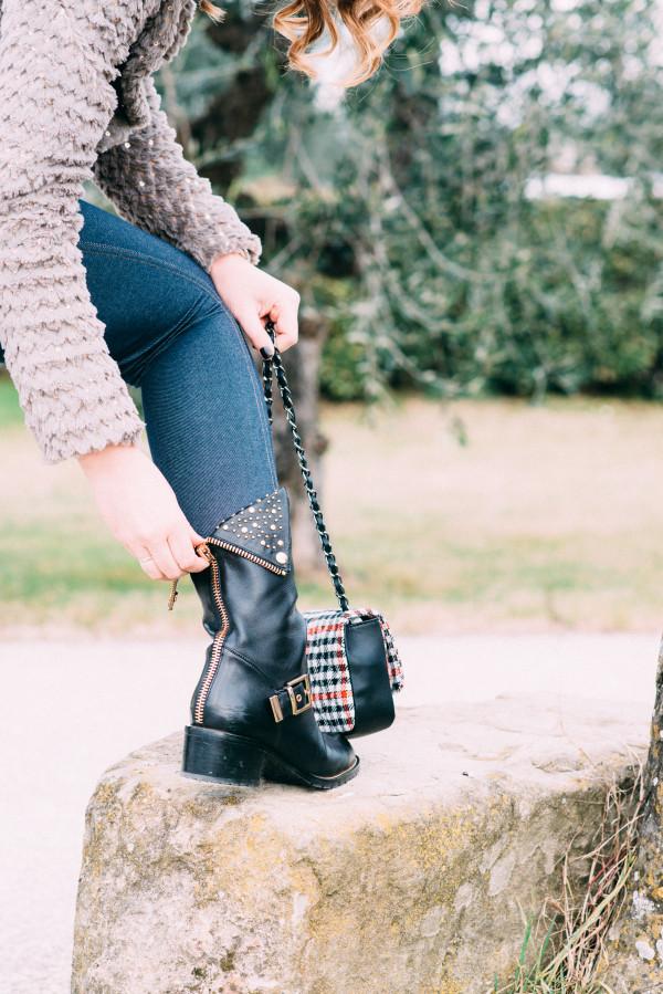 Cristina Lodi, 2 fashion sisters, jeggings max mara, leggings, cristinaeffe, boots luciano barachini, borsa babi firenze