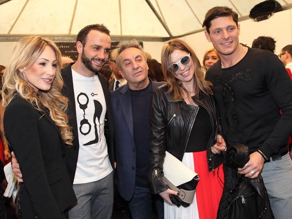 Silvia Slitti, Giampaolo Pazzini, Saverio Moschillo, Cristina Lodi, Aldo Montano, Johrn Richmond, 2 fashion sisters