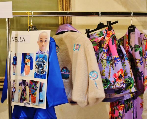 back stage Leit motiv, 2 fashion sisters, mfw