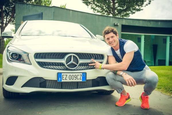 Consegna_CLA Aldo Montano, Mercedes Benz