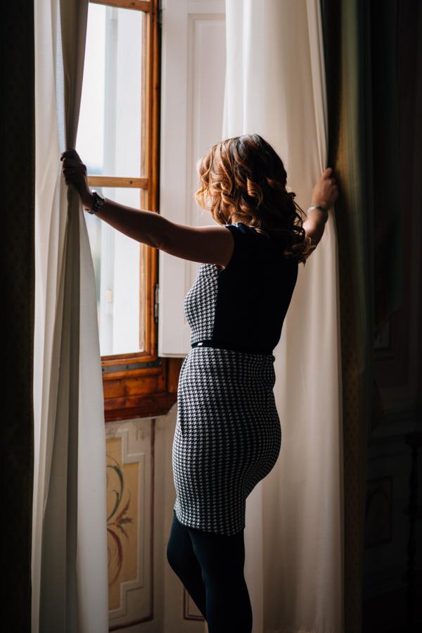 Cristina Lodi, CristinaEffe, look da ufficio, Villa Olmi