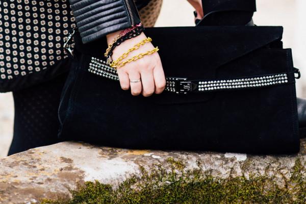 Cristina Lodi, bracciale t'incateno, borsa loriblu, 2 fashion sisters, fashion blogger