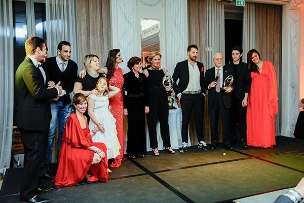 Infant Charity Award, Palazzo Parigi, 2 fashion sisters, Adil Rami, Cristina Lodi, Cristina De Pin, Susanna Rossi, Stefano Callegaro