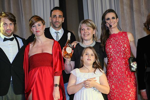 Infant Charity Award, Palazzo Parigi, 2 fashion sisters, Adil Rami, Cristina Lodi, Cristina De Pin, Susanna Rossi, charity