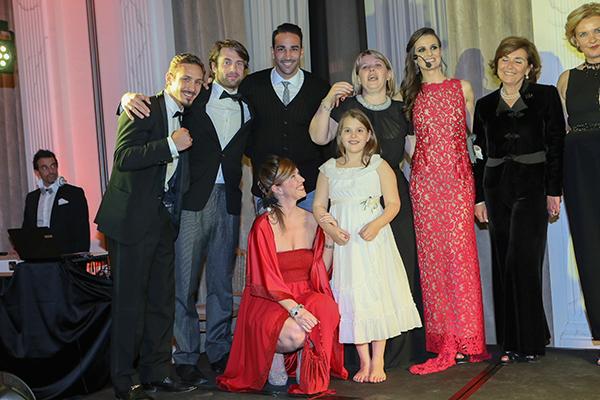 Infant Charity Award, Palazzo Parigi, 2 fashion sisters, Alessandro Caccia, Adil Rami, Cristina Lodi, Cristina De Pin, Susanna Rossi