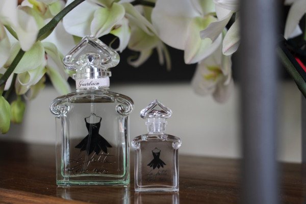 La Petite Robe Noire Ma Robe Petales, parfum, 2 fashion sisters, Guerlain, beauty. parfum