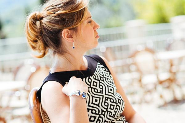 Cristina Lodi, abito Christies, gioielli Ottaviani, 2 fashion sisters, fashion blogger