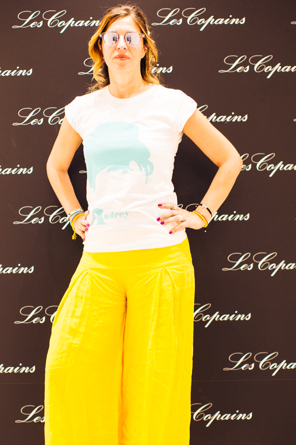 Cristina Lodi, Les Copains, Pitti, tee4two, domani