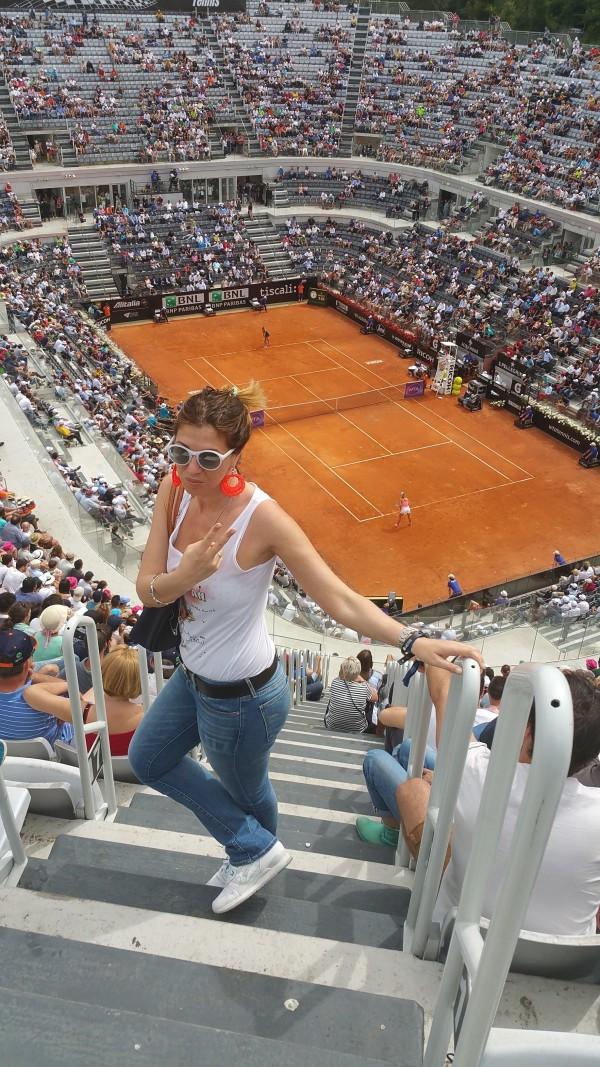 Cristina Lodi, jadea, levis, asics, internazionali di tennis, roma, foro italico