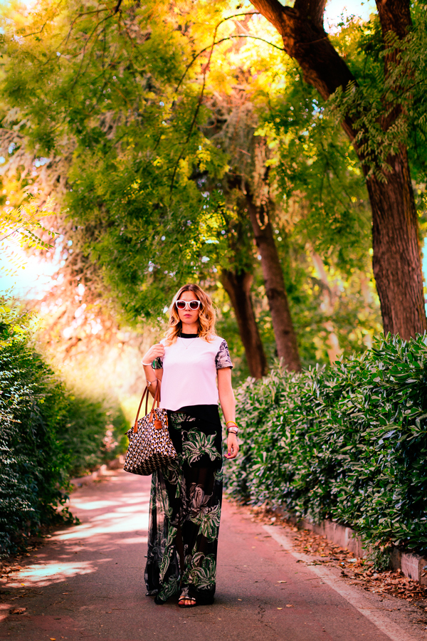 Cristina Lodi, 2 fashion sisters, completo CristinaEffe, borsa Roberta Pieri, fashion blog, ghd curve classic wave wand