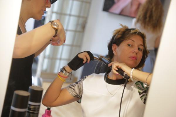 Cristina Lodi, CristinaEffe, 2 punti milano, ghd curve. ghd blogger day, 2 fashion sisters.
