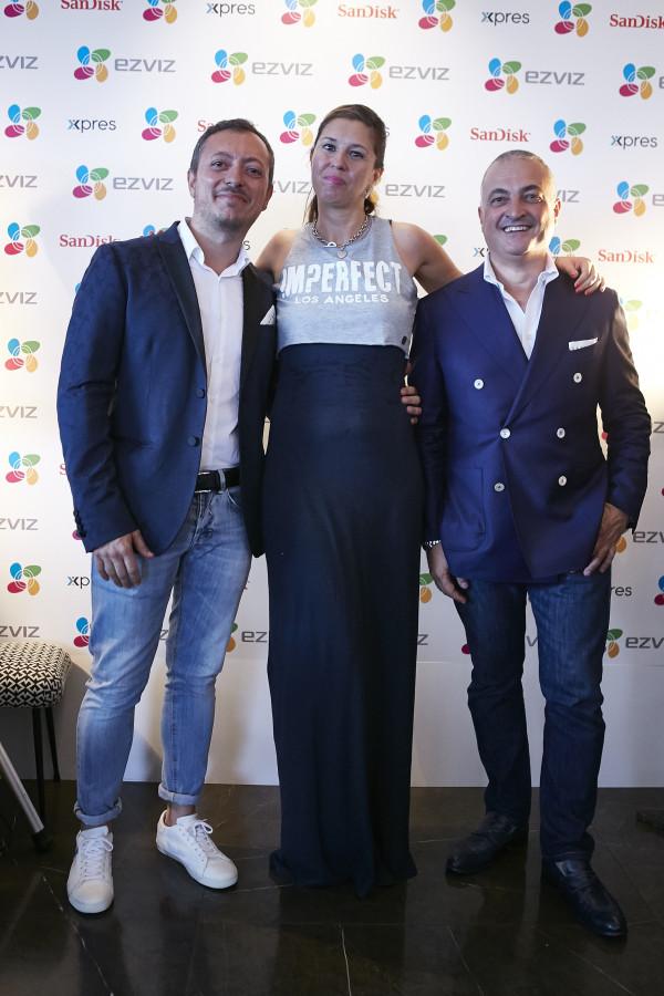 Cristina Lodi per la nuova S1 Sports, ezviz