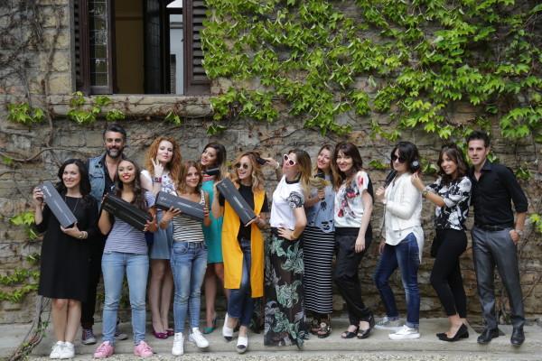 ghd curve. ghd blogger day, 2 fashion sisters, Tommaso Cuccoli, Cristina Lodi