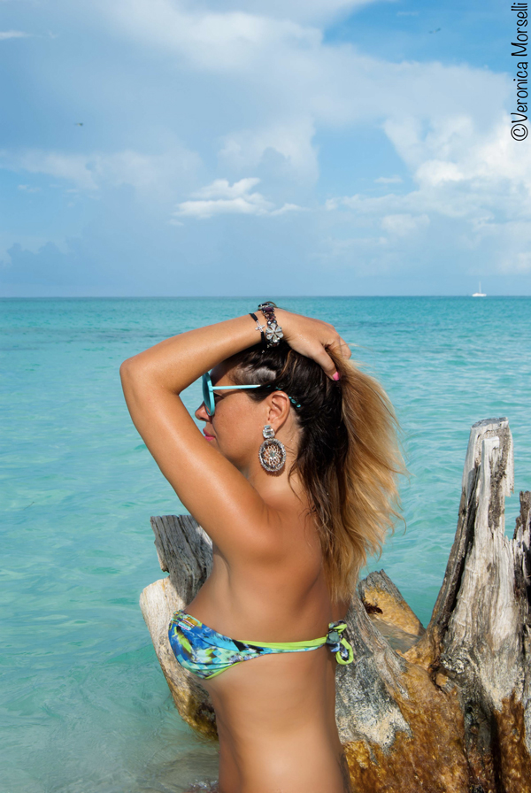Cristina Lodi, b brasil, bikini,playa paraiso, vacanze cuba,travel blogger, fashion blogger, cayo largo, athina lux, estate, orecchini ottaviani