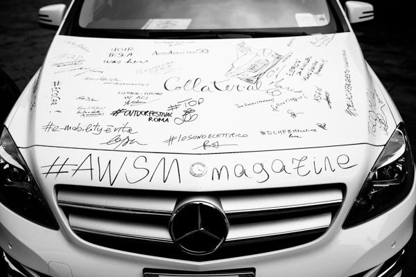 Mercedes Benz, IoSonoElettrica, 2 fashion sisters, auto