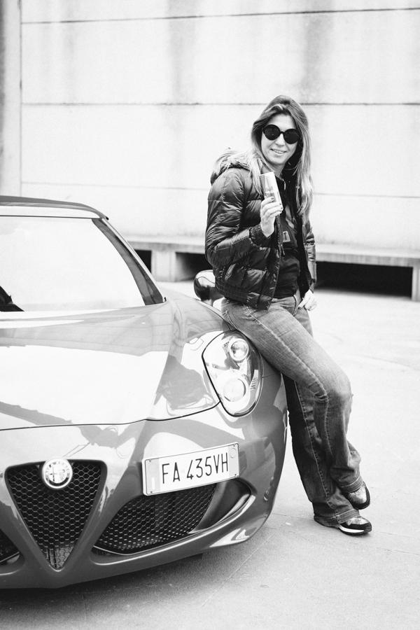 Cristina Lodi, Alfa Romeo, Giulietta