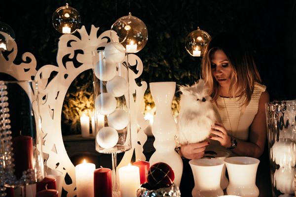 cristina Lodi, capondanno, abito cristinaeffe, stiatti fiori, gioielli v73, happy new year, decorazioni natalizie, buon anno