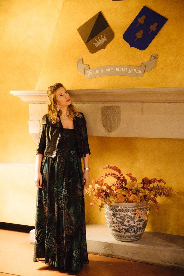 Cristina Lodi, hotel Kraft, firenze, travel blogger, abito rosso e lavanda