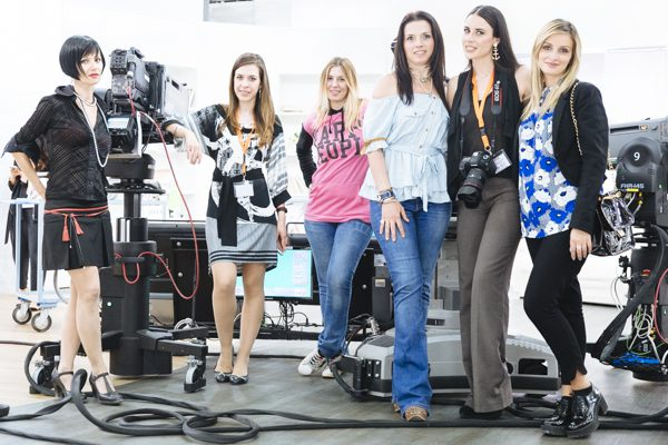 Cristina Lodi, Antea Sanna, Esmeralda Evangelista, Meggy Fri, Noemi Guerriero