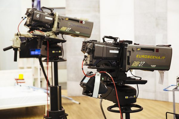 telecamera. tv, shopping, diretta