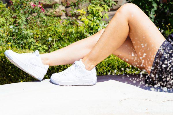 Cristina Lodi, sneakers nike, fontebussi resort