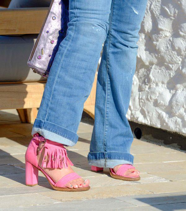 Cristina Lodi, Casa Italia, scarpe As98, jeans Roy Rogers, Rio 2016