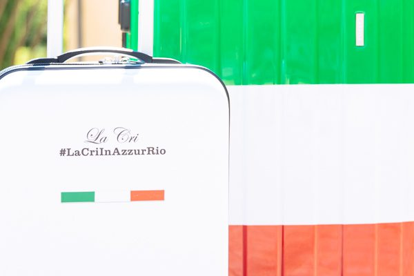 Cristina Lodi, valigia carpisa, trolley carpisa, rio 2016